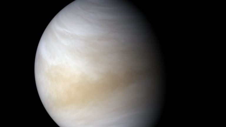 Venus as seen by Japan's Akatsuki space probe on November 11, 2016
