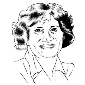 illustration of Sharon Clay