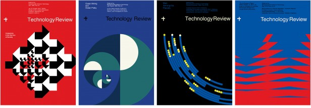Technology Review covers from the 1960s