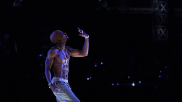 Photo of CGI created Tupac Shakur