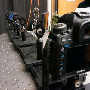 researchers focus a camera to simulate nearsightedness