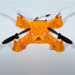 The quadcopter printed by Voxel8