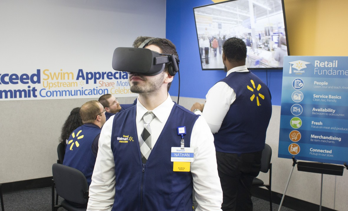 Finally, a Useful Application for VR: Training Employees