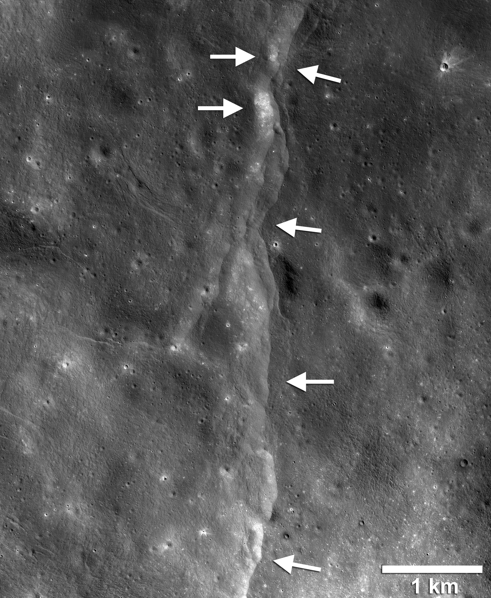 NASA says the moon is shrinking and experiencing