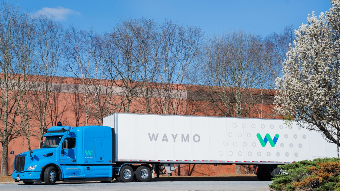Image result for google waymo 18 wheelers