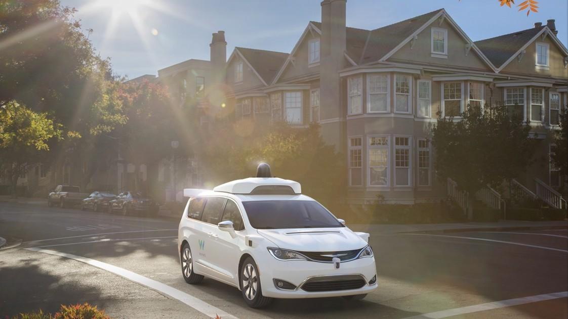 Waymo autonomous van