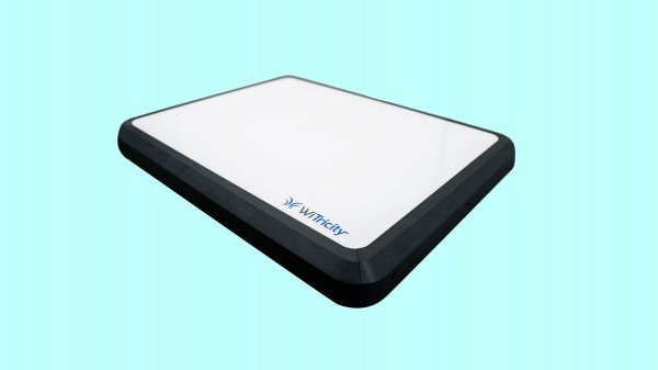 Photo of witricity charging pad