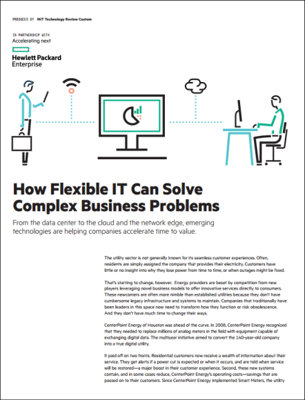 How Flexible IT Can Solve Complex Business Problems