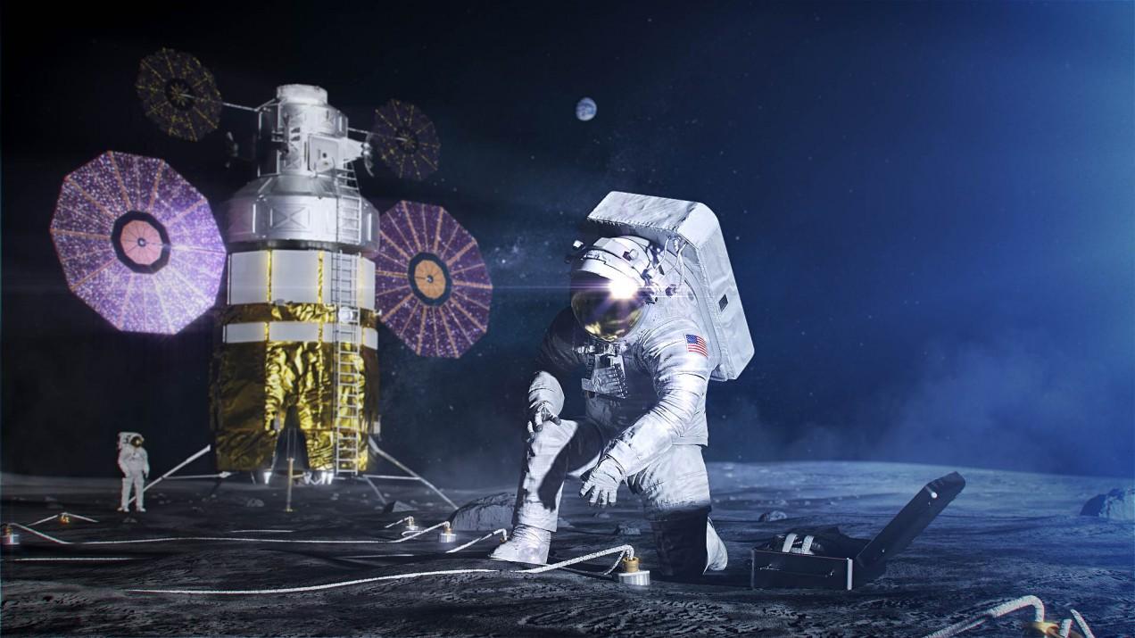 NASA Artemis moon landing