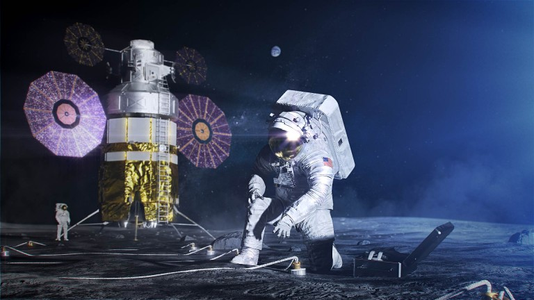 NASA Artemis moon landing