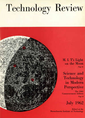 July 1962 issue of MIT Technology Review