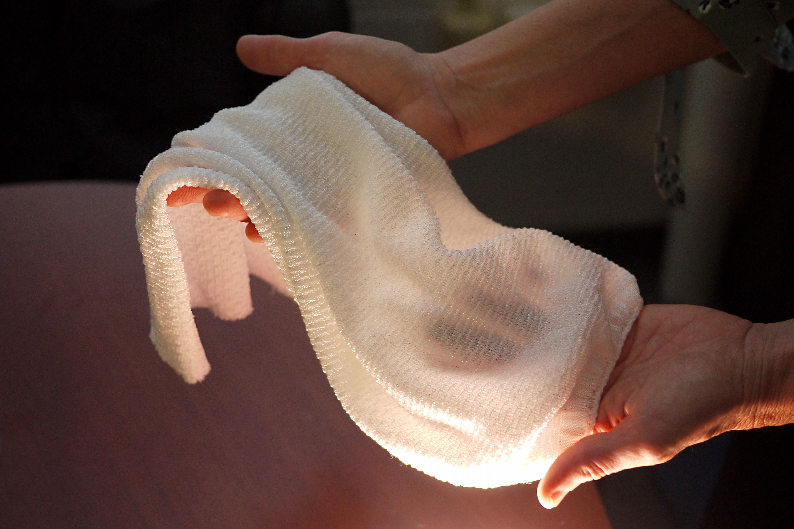This new fabric will automatically cool you down when you get hot and sweaty