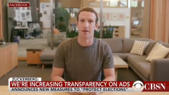Facebook has promised to leave up a deepfake video of Mark Zuckerberg