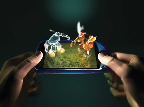 3-D on the go: Released in South Korea in March, Samsung's W960 mobile  phone comes with 3-D video content, generated by Dynamic Digital Depth, ...