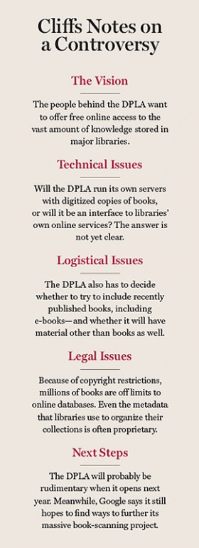 the library of utopia mit technology review while palfrey is hesitant to discuss legal issues he expresses some hope that progress can be made out congressional action he feels that the dpla