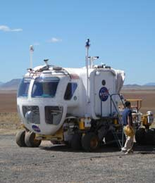 NASA Road-Tests New Moon Rover | MIT Technology Review