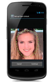 Nexus 4 face unlock