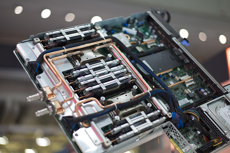 Hot Water Helps A Super Efficient Supercomputer Keep Its