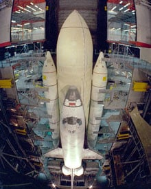 Was the Space Shuttle a Mistake?   MIT Technology Review