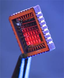 A New Spin on Silicon Chips - MIT Technology Review
