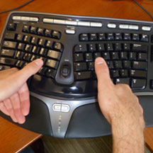 Out of Touch with Typing - MIT Technology Review