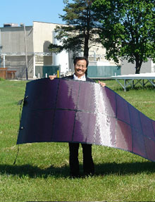 Roll Up Solar Panels Mit Technology Review
