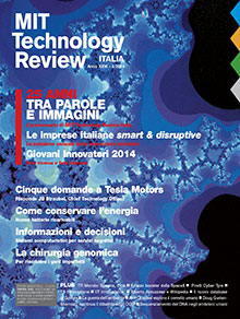 Latest issue of MIT Technology Review Italy